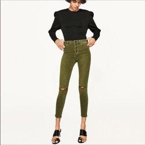Zara | The High Waist Jean